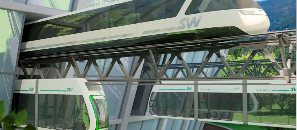 SkyWay Transport Solutions Concept Art