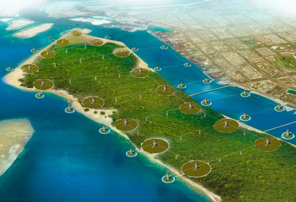 SkyWay Technologies Linear City Concept